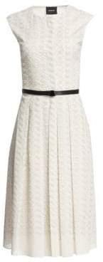 Akris Women's Leporello Cap Sleeve Shirtdress - Paper - Size 10