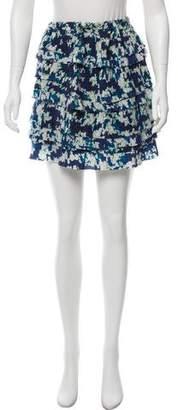 Under.ligne By Doo.ri Silk Mini Skirt