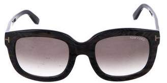Tom Ford Christophe Marbled Sunglasses