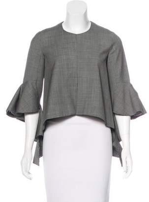 Ellery Bell Sleeve Wool Top