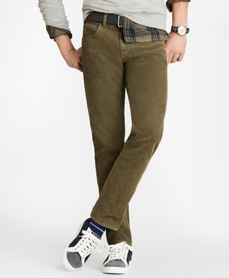 Brooks Brothers Garment Dyed Five-Pocket Corduroys