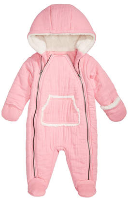 First Impressions Baby Girls Hooded Snowsuit