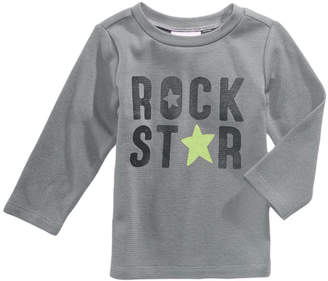 First Impressions Rock Star-Print Thermal T-Shirt, Baby Boys, Created for Macy's