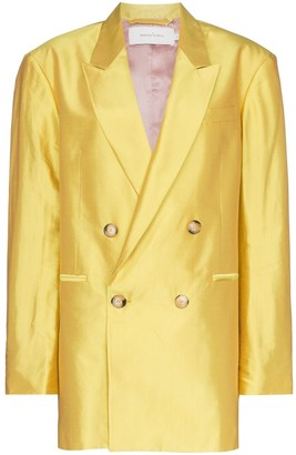 Marques Almeida Marques'Almeida oversized double-breasted blazer