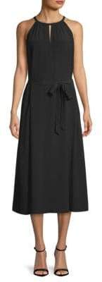 Eileen Fisher Keyhole Halter Dress
