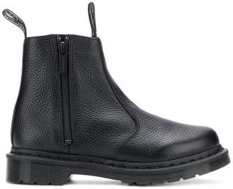 Dr. Martens side zip ankle length boots