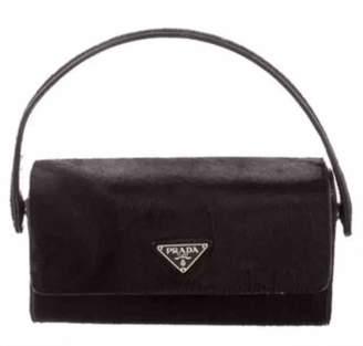 Prada Black Fur Handbag
