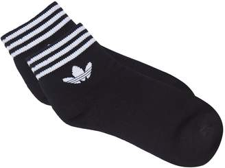 adidas Trefoil Ankle Socks (Pack of 3)