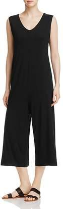 Eileen Fisher Wide Leg Crop Jumpsuit $218 thestylecure.com