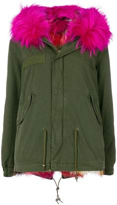 Mr & Mrs Italy fur-lined hooded parka