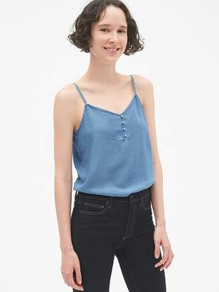 Gap Button-Front Cami in TENCEL