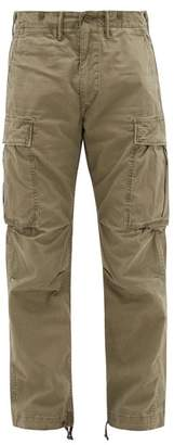Ralph Lauren RRL Cotton Twill Cargo Trousers - Mens - Khaki