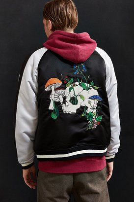 Urban Outfitters UO Embroidered Skull Souvenir Jacket $129 thestylecure.com
