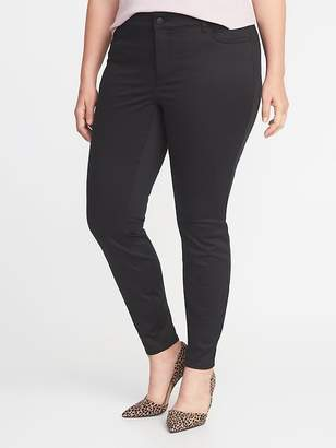 Old Navy High-Rise Secret-Slim Plus-Size Rockstar Super Skinny Sateen Jeans