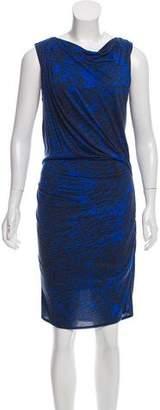 Helmut Lang Print Sleeveless Dress