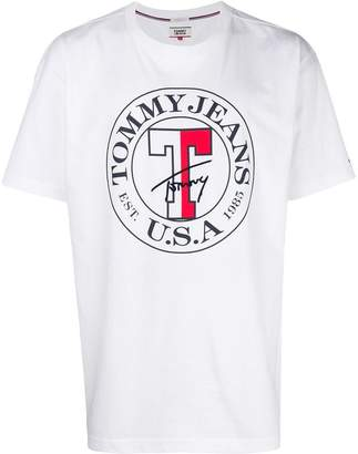 Tommy Jeans logo printed T-shirt