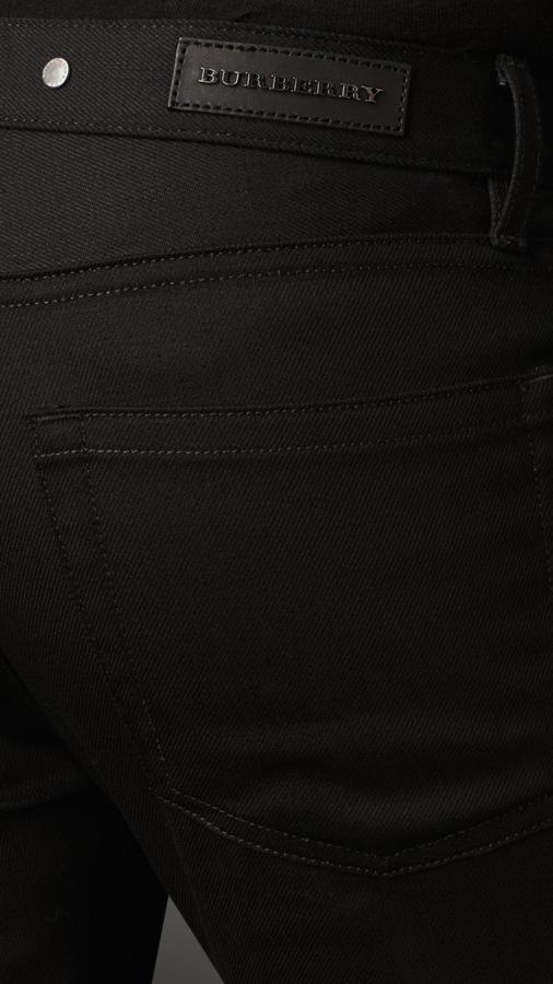 Burberry Steadman Black Slim Fit Jeans