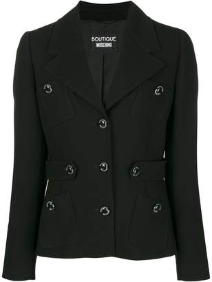 Moschino fitted button jacket