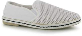 Soul Cal SoulCal Mens Mesh Casual Shoes Canvas Slip On Flat