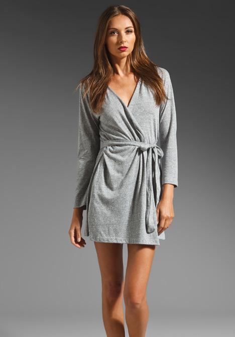 Eberjey Heather Hooded Robe