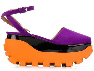 Marni platform colour-block sandals