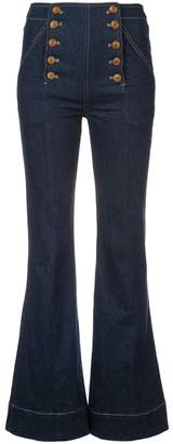 Ulla Johnson flared jeans