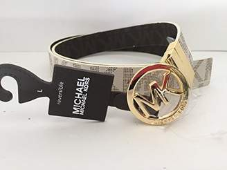 Michael Kors MICHAEL Belt with Logo Plaque