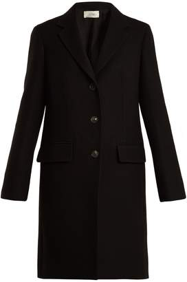 The Row Amutto single-breasted wool coat