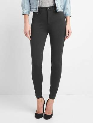 Gap Sculpt High Rise Leggings in Ponte
