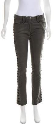 Isabel Marant Mid-Rise Lace-Up Pants