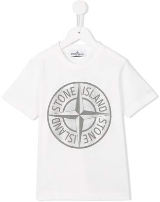 Stone Island Junior logo T-shirt