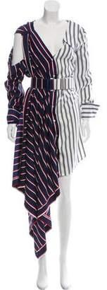 Monse Striped Belted Dress w/ Tags