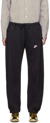 Bless SSENSE Exclusive Black Overjogging Jean Lounge Pants