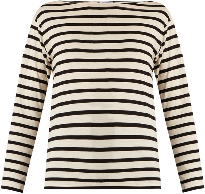 Saint LaurentSAINT LAURENT Striped cotton T-shirt