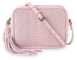 GiGi New York Petal Pink Madison Crossbody
