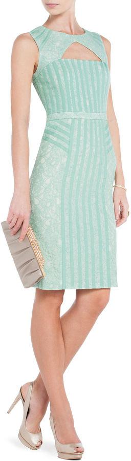 BCBGMAXAZRIA Umi Lace Sheath Dress