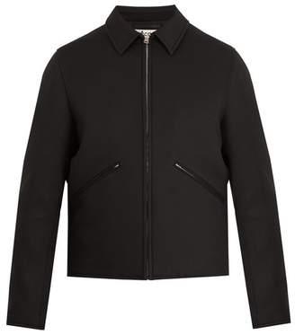 Acne Studios Miles point-collar jacket