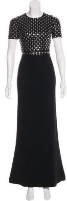 Burberry Embellished Evening Dress w/ Tags
