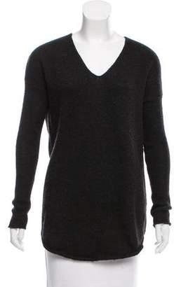 Helmut Lang Asymmetrical Wool Sweater