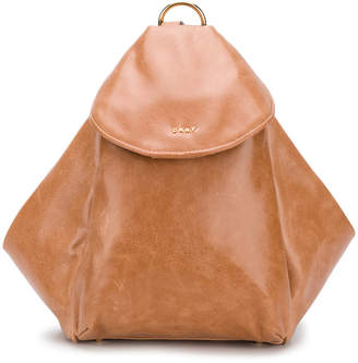 DKNY trapeze shaped backpack