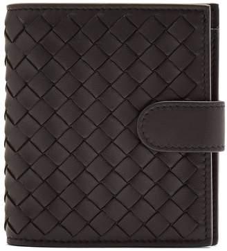 Bottega Veneta Intrecciato card holder and zip-around wallet