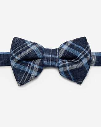 Linen checked bow tie $75 thestylecure.com