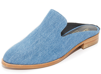 Robert Clergerie Flat Mules $475 thestylecure.com