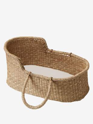 Vertbaudet Wicker Carrycot for Baby Doll