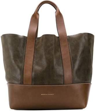 9e3fd5019d01 Brunello Cucinelli two-tone tote bag
