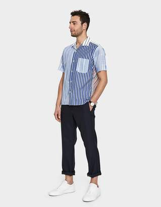 Gitman Brothers Multi Stripe Camp Shirt