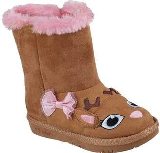 Skechers Glamslam Miss Moosey Boot(Infant/Toddler Girls') -Chestnut Big Sale a5OdkMg