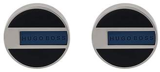 HUGO BOSS enamelled cufflinks
