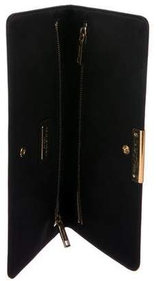 Dolce & Gabbana Long Satin Clutch