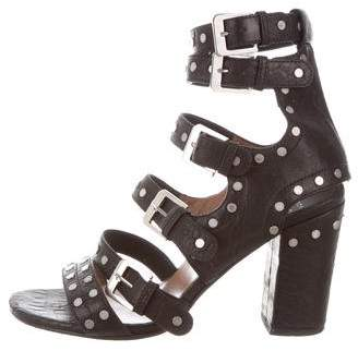 Laurence Dacade Leather Cage Sandals